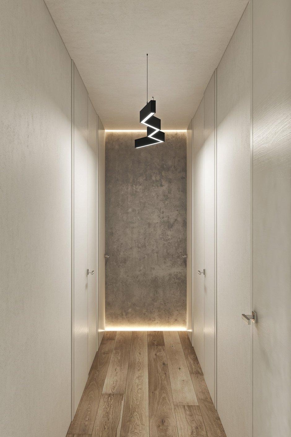 Фотография: Прихожая в стиле Современный, Квартира, Проект недели, Москва, Geometrium, Монолитный дом, 3 комнаты, Более 90 метров, ЖК «Лайнер» – фото на INMYROOM