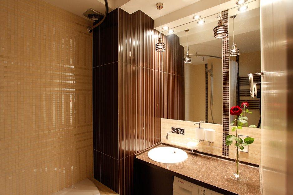 Фотография: Ванная в стиле Современный, Классический, Квартира, Проект недели – фото на InMyRoom.ru