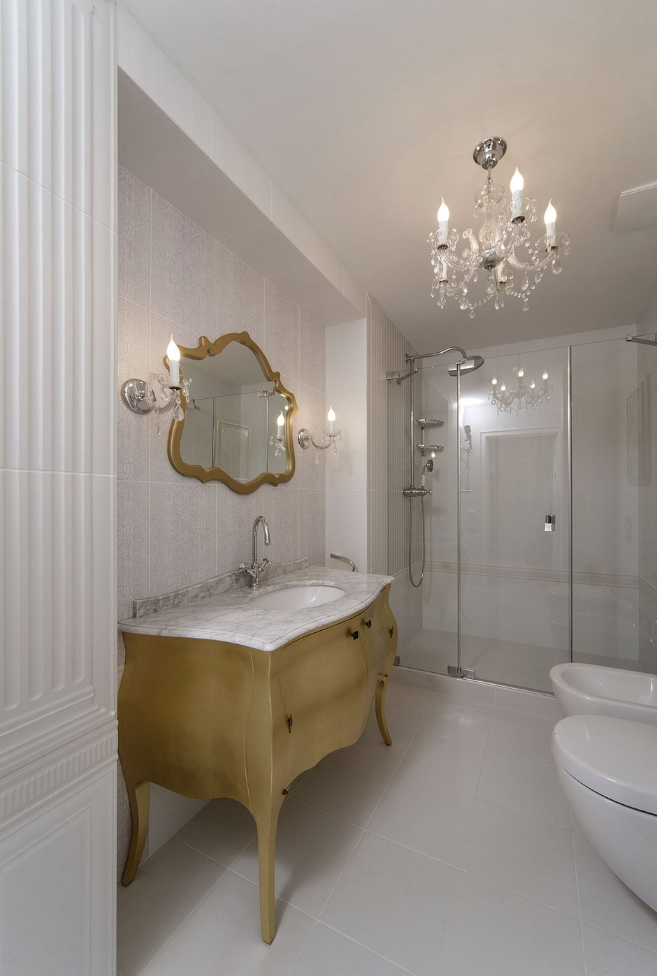 Фотография: Ванная в стиле Классический, Квартира, Дома и квартиры – фото на INMYROOM