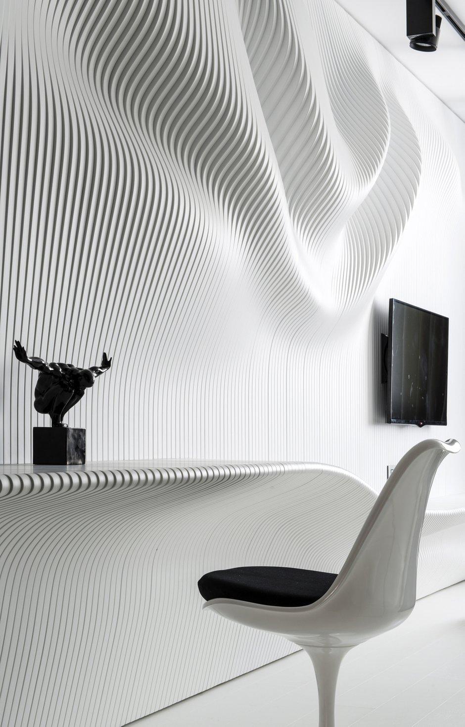Фотография: Декор в стиле Хай-тек, Спальня, Интерьер комнат, Проект недели, Ар-деко – фото на InMyRoom.ru