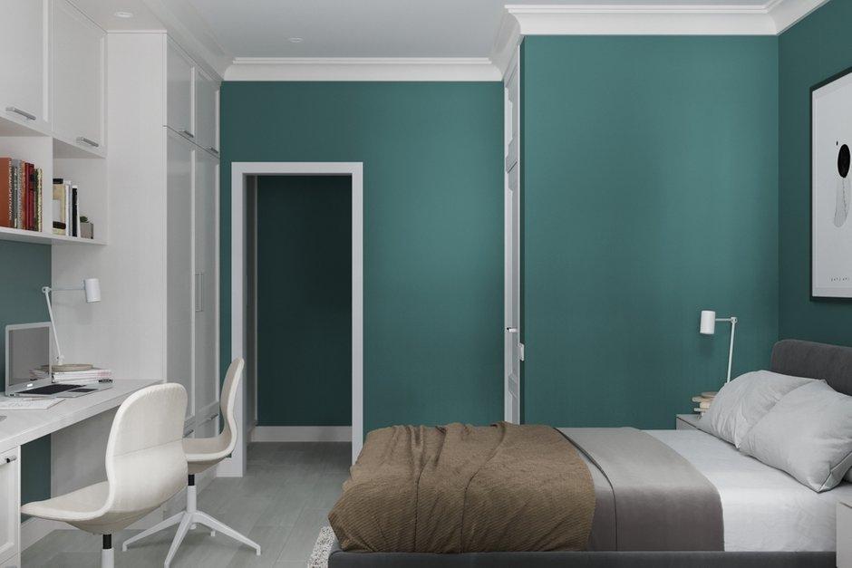 Фотография: Спальня в стиле Современный, Квартира, Проект недели, Минск, 3 комнаты, 60-90 метров, Protena – фото на INMYROOM