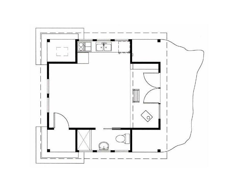 Фотография: Планировки в стиле , Дом, Дома и квартиры, Городские места, Дача – фото на INMYROOM