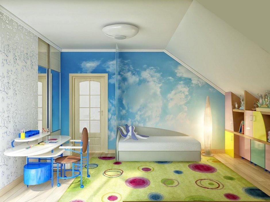 Фотография: Детская в стиле Современный, Дом, Мансарда – фото на InMyRoom.ru