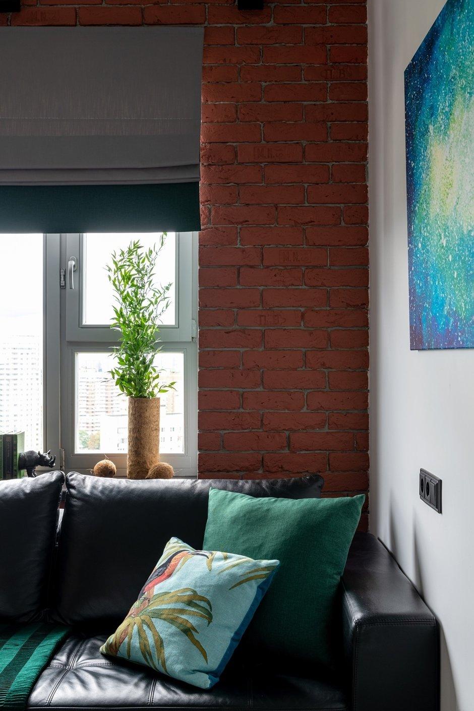 Фотография: Гостиная в стиле Современный, Малогабаритная квартира, Квартира, Студия, Проект недели, Москва, Марина Саркисян, Монолитный дом, до 40 метров – фото на INMYROOM