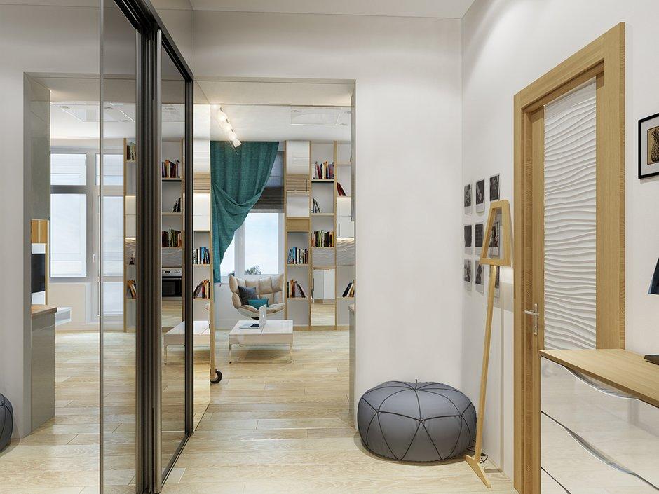 Фотография: Прихожая в стиле Современный, Малогабаритная квартира, Квартира, Хранение, Мебель и свет, Дома и квартиры, Проект недели – фото на INMYROOM