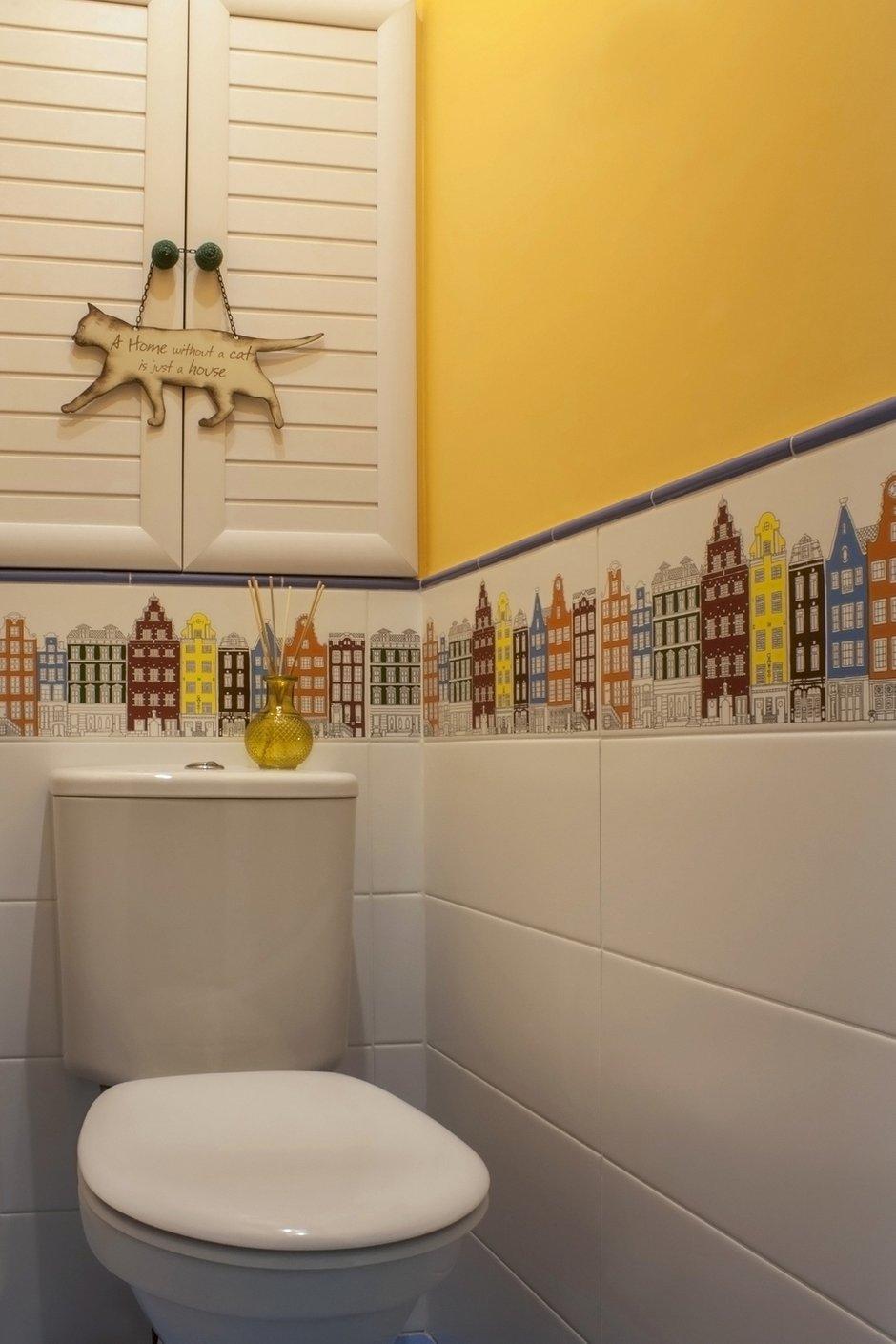 Фотография: Ванная в стиле Скандинавский, Квартира, Проект недели, Москва, Екатерина Чистова – фото на INMYROOM