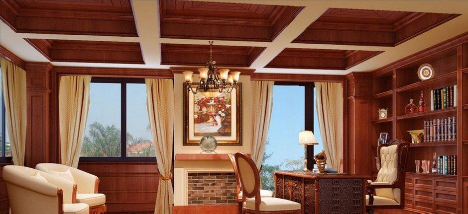Фотография: Офис в стиле Современный, Декор интерьера, Квартира, Дом, Декор дома, Потолок – фото на INMYROOM