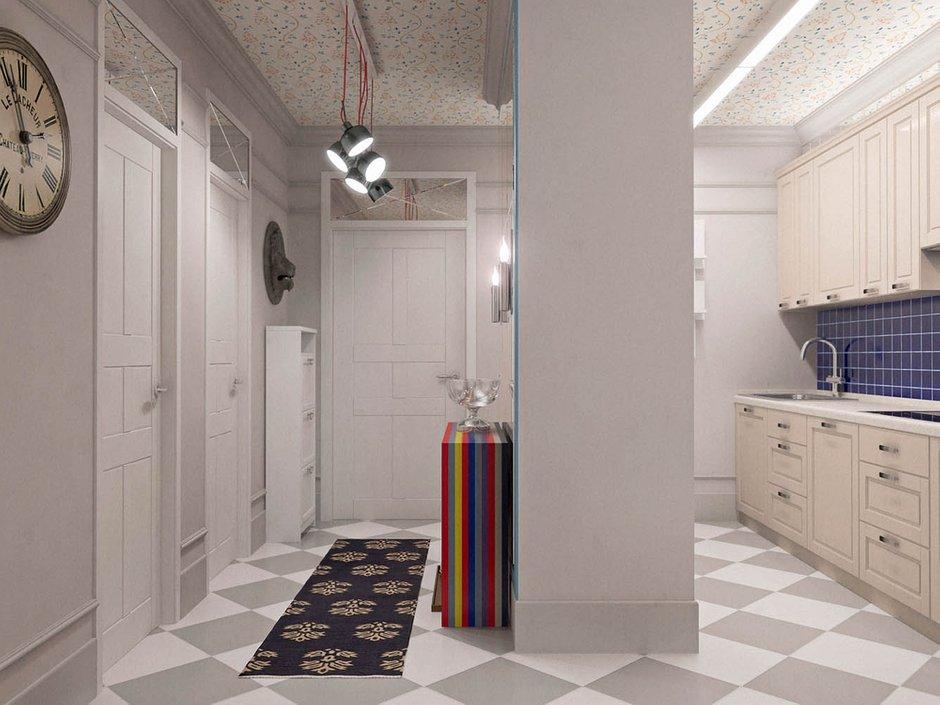 Фотография: Прихожая в стиле Современный, Классический, Эклектика, Квартира, Проект недели – фото на INMYROOM