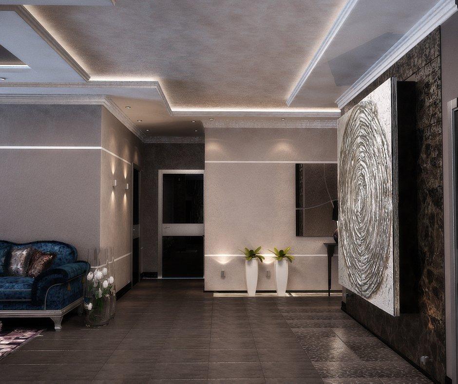 Фотография: Гостиная в стиле Эклектика, Квартира, Дома и квартиры, Проект недели, Москва – фото на INMYROOM