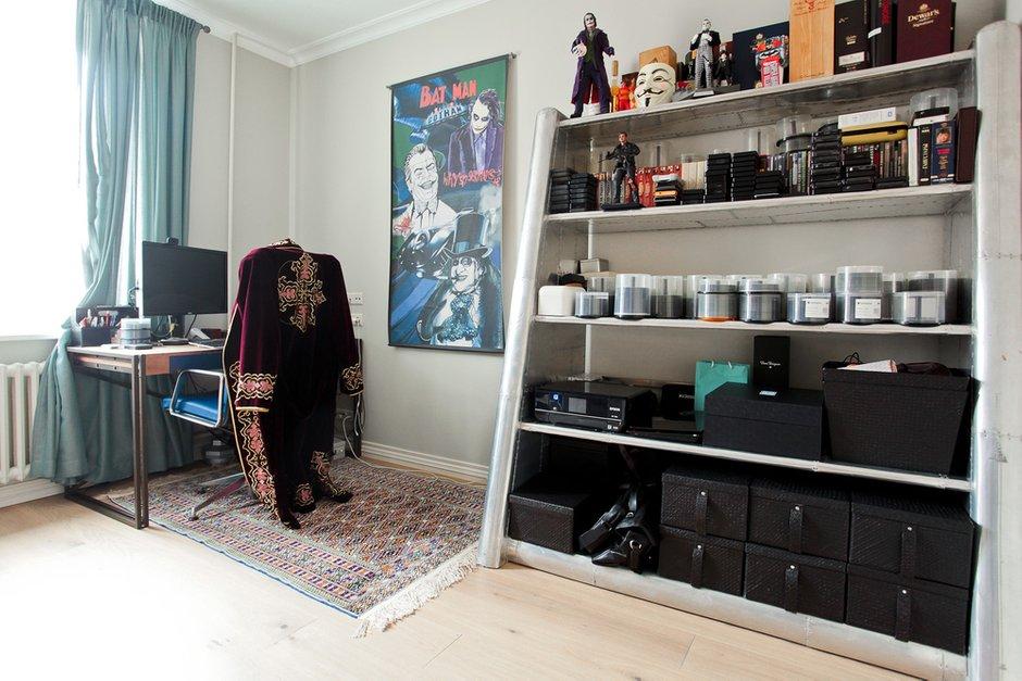 Фотография: Кабинет в стиле Лофт, Скандинавский, Современный, Квартира, Проект недели – фото на INMYROOM