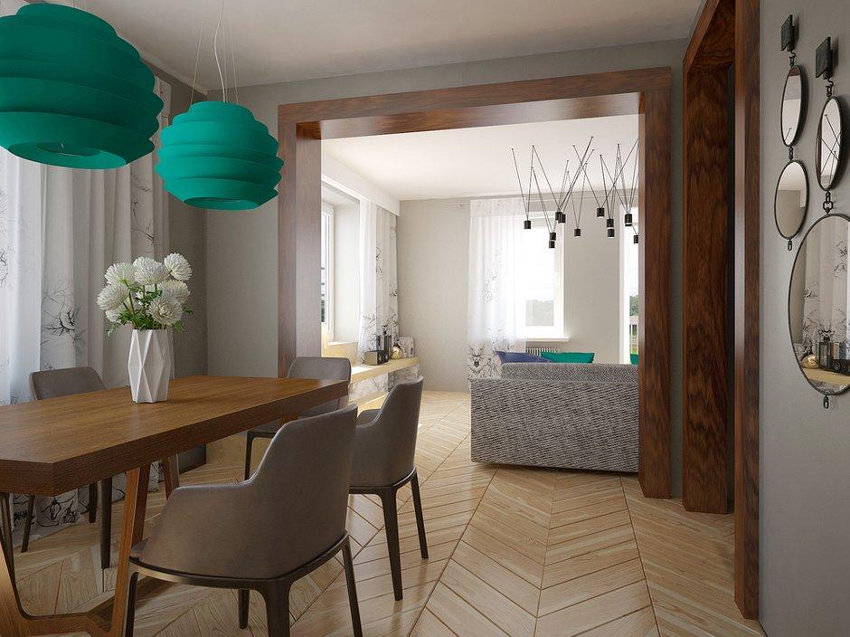 Фотография: Кухня и столовая в стиле , Квартира, Дома и квартиры, Проект недели, Пентхаус – фото на INMYROOM