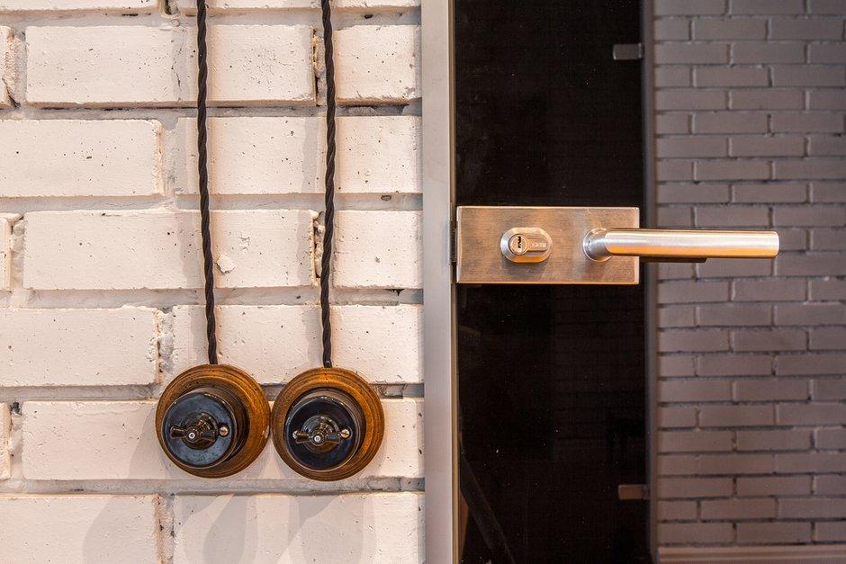 Фотография:  в стиле , Квартира, Студия, Проект недели, Москва, новостройка, Монолитный дом, Дарья Чаплыгина, Ольга Пеккер, 40-60 метров – фото на InMyRoom.ru