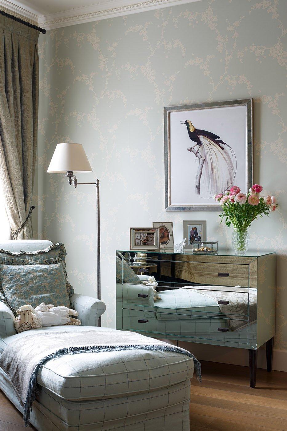 Фотография: Спальня в стиле Классический, Современный, Дом, Проект недели, 4 и больше, Более 90 метров, Оксана Бутман – фото на INMYROOM