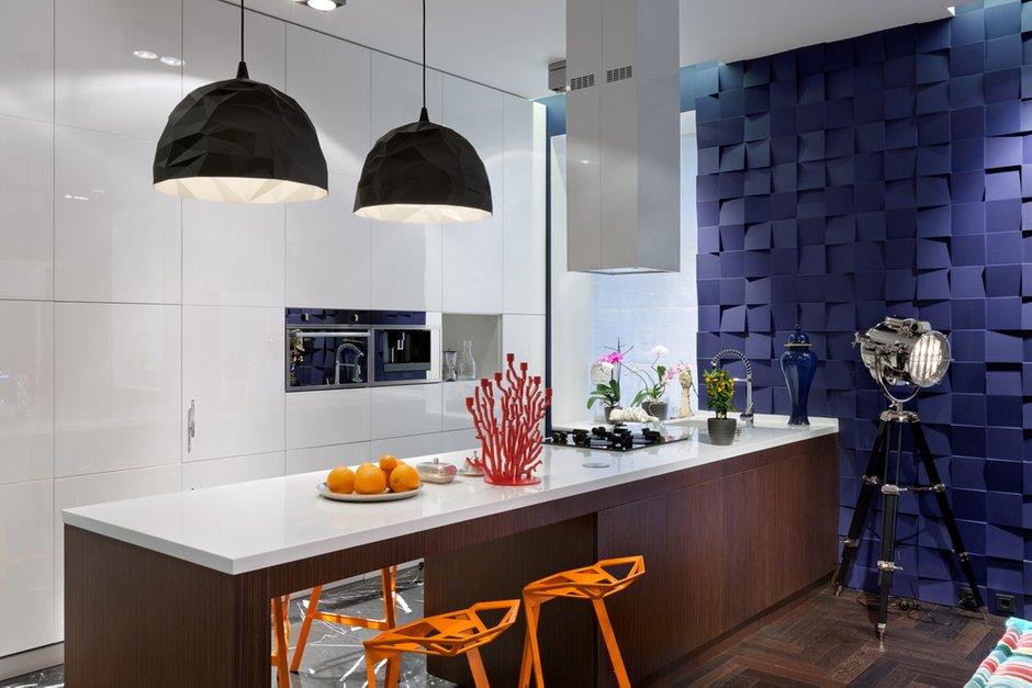 Фотография: Кухня и столовая в стиле Лофт, Современный, Малогабаритная квартира, Квартира, Дома и квартиры, Перепланировка – фото на INMYROOM