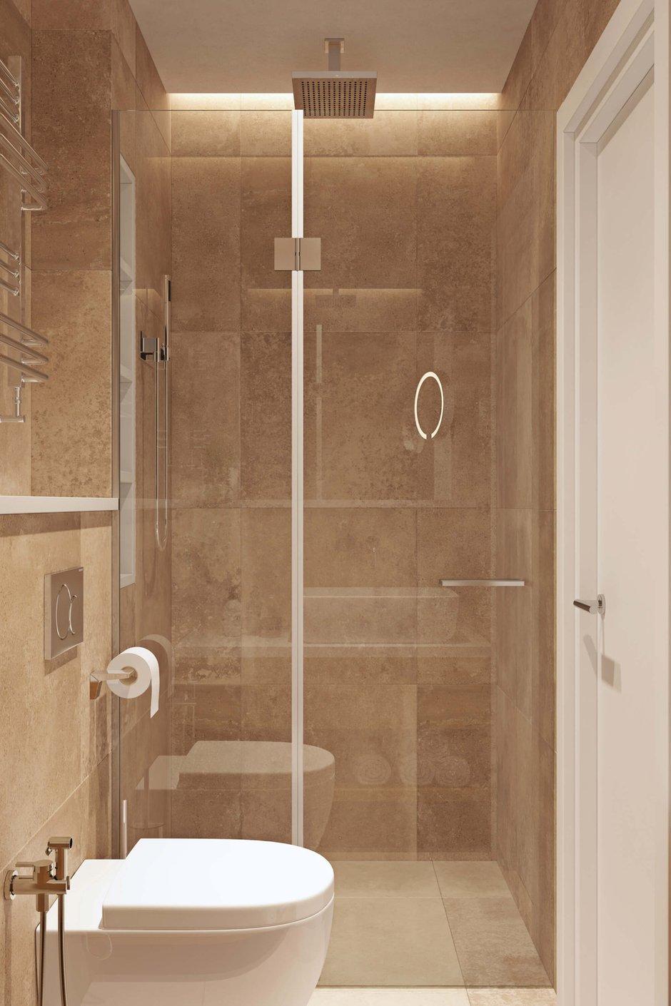 Фотография: Ванная в стиле Современный, Квартира, Проект недели, Geometrium, Монолитный дом, 3 комнаты, 60-90 метров, ЖК «Арт Casa Luna» – фото на INMYROOM