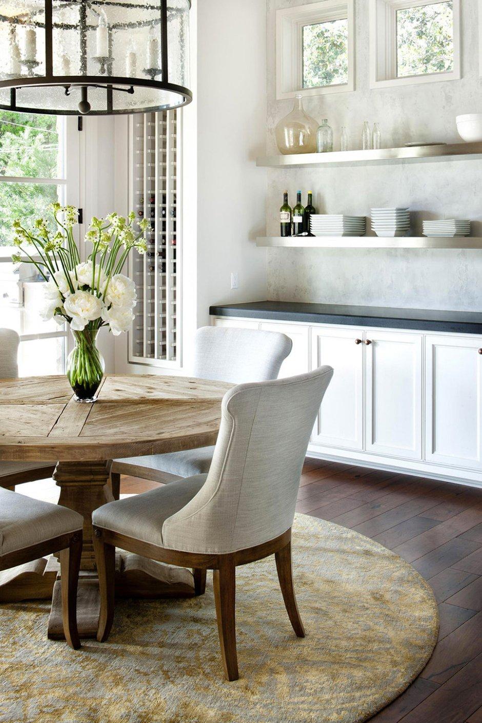 Фотография: Кухня и столовая в стиле Современный, Классический, Дом, Дома и квартиры, Шебби-шик, Индустриальный, Техас – фото на INMYROOM