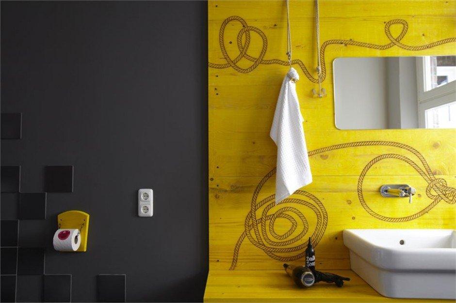 Фотография: Ванная в стиле Современный, Дома и квартиры, Городские места, Отель, Проект недели, Хостел – фото на INMYROOM