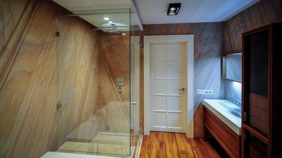 Фотография: Ванная в стиле Лофт, Современный, Интерьер комнат, Эко, Ванна – фото на INMYROOM