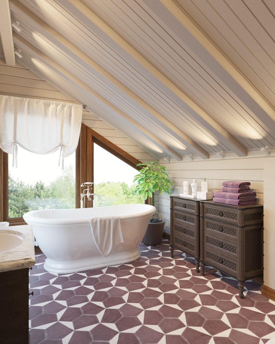 Фотография: Ванная в стиле Классический, Дом, Проект недели, Дом и дача – фото на INMYROOM