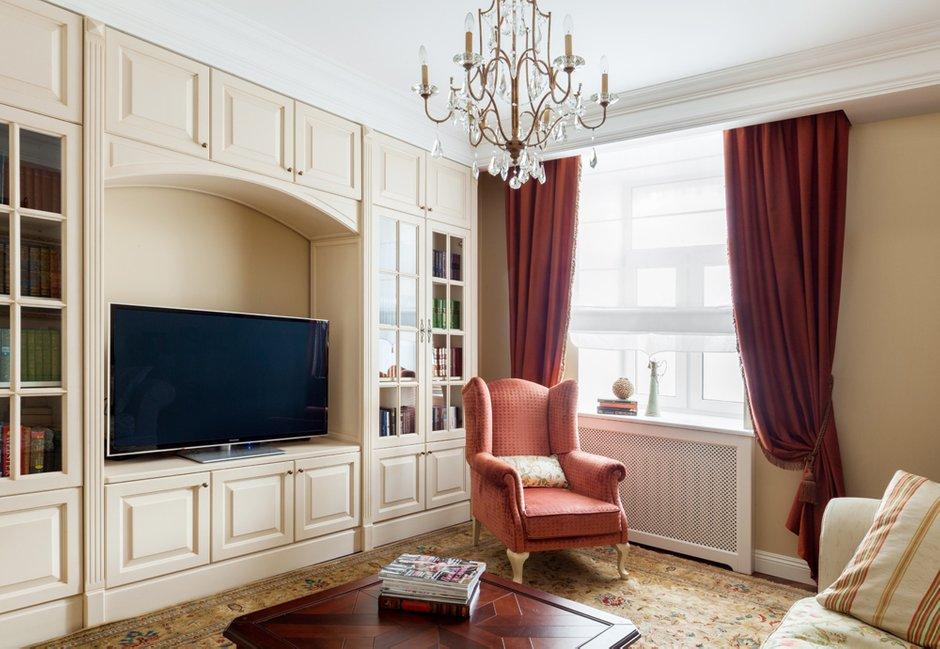 Фотография: Гостиная в стиле Прованс и Кантри, Классический, Квартира, Дома и квартиры, IKEA, Проект недели, Сталинка – фото на INMYROOM