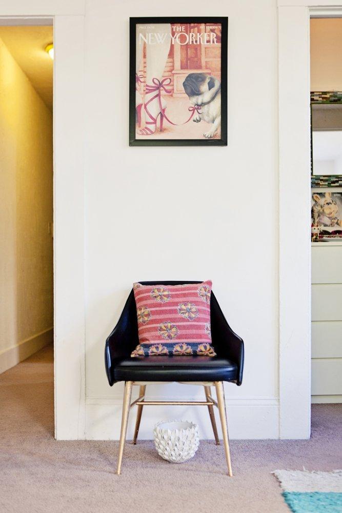 Фотография:  в стиле Скандинавский, Малогабаритная квартира, Квартира, Цвет в интерьере, Дома и квартиры – фото на InMyRoom.ru