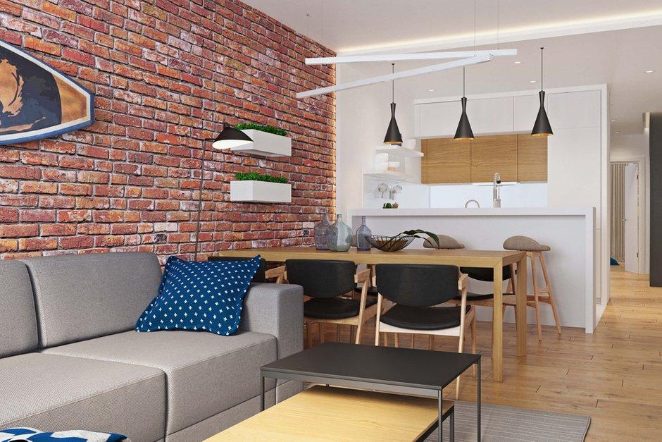 Фотография: Кухня и столовая в стиле Современный, Квартира, Проект недели, Geometrium, Монолитный дом, 3 комнаты, 60-90 метров, ЖК «Арт Casa Luna» – фото на INMYROOM