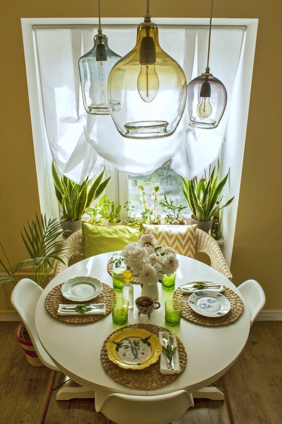 Фотография: Кухня и столовая в стиле Скандинавский, Квартира, Проект недели, Москва, Екатерина Чистова – фото на INMYROOM