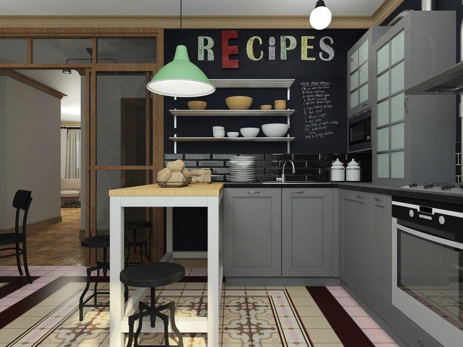 Фотография: Кухня и столовая в стиле Лофт, Эклектика, Квартира, Дома и квартиры, IKEA, Проект недели – фото на INMYROOM