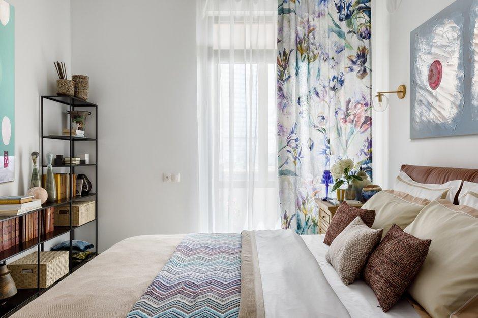 Фотография: Спальня в стиле Современный, Квартира, Проект недели, Москва, 1 комната, до 40 метров, Мария Устинова – фото на INMYROOM