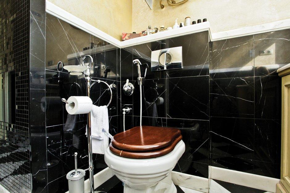 Фотография: Ванная в стиле Эклектика, Классический, Квартира, Дома и квартиры, Проект недели – фото на INMYROOM
