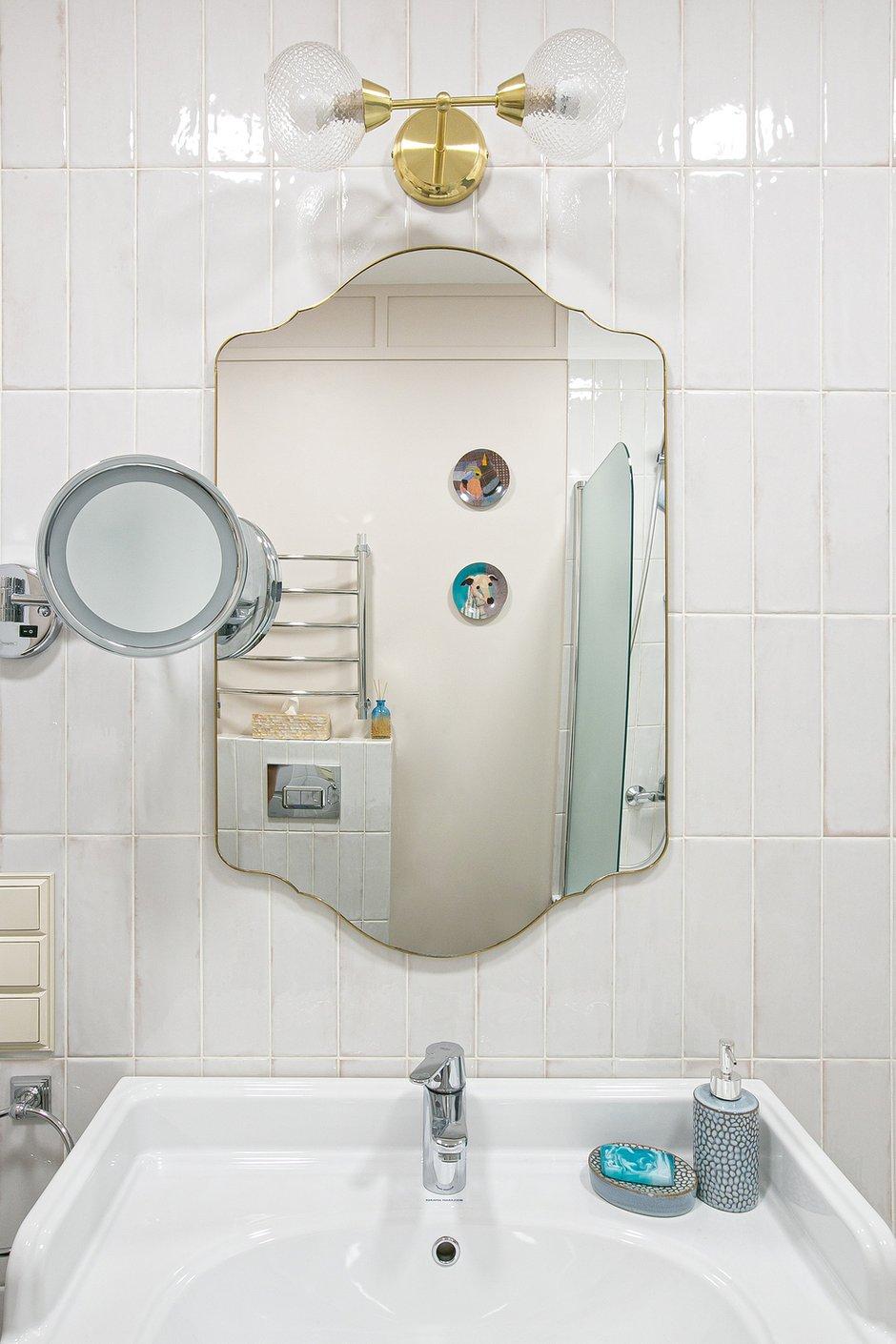 Фотография: Ванная в стиле Эклектика, Квартира, Проект недели, Санкт-Петербург, 3 комнаты, 60-90 метров, Ольга Захарова – фото на INMYROOM