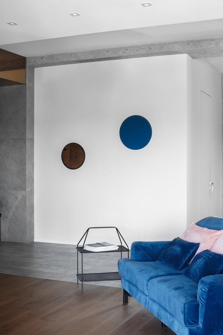 Фотография: Гостиная в стиле Современный, Квартира, Проект недели, 3 комнаты, Более 90 метров, Владивосток, Miyao Studio – фото на INMYROOM
