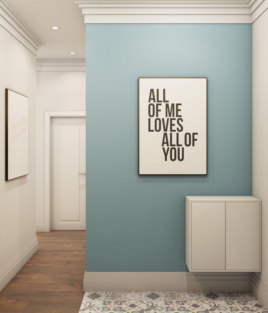 Фотография: Прихожая в стиле Современный, Квартира, Проект недели, Химки, Евгения Матвеенко, FlatsDesign, Монолитный дом, 2 комнаты, 40-60 метров, ЖК Маяк – фото на INMYROOM