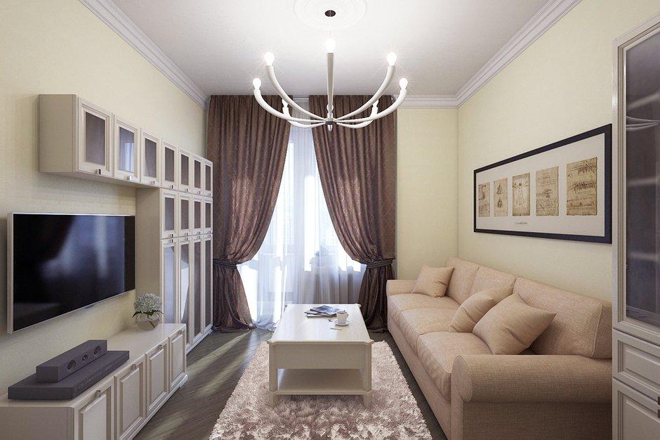 Фотография: Гостиная в стиле Современный, Квартира, Дома и квартиры, Проект недели – фото на INMYROOM