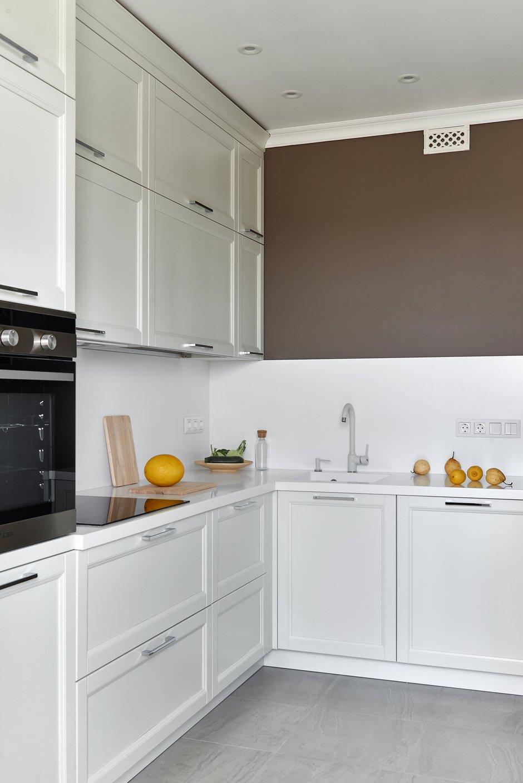 Фотография: Кухня и столовая в стиле Современный, Квартира, Проект недели, Марина Саркисян, Долгопрудный, 1 комната, 40-60 метров, ПРЕМИЯ INMYROOM – фото на INMYROOM