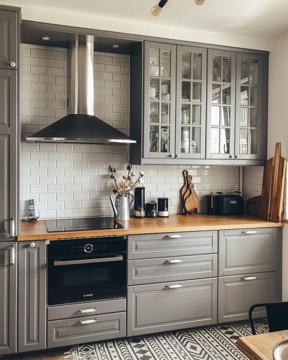 Фотография: Кухня и столовая в стиле Скандинавский, Квартира, Проект недели, 3 комнаты – фото на INMYROOM