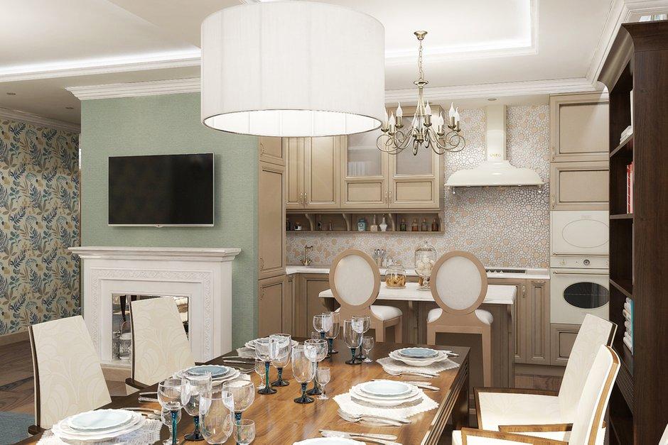 Фотография: Кухня и столовая в стиле Прованс и Кантри, Квартира, Дома и квартиры, Проект недели – фото на INMYROOM