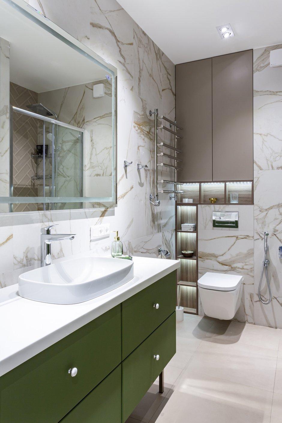 Фотография: Ванная в стиле Современный, Квартира, Проект недели, Москва, 2 комнаты, 40-60 метров, Марина Светлова – фото на INMYROOM