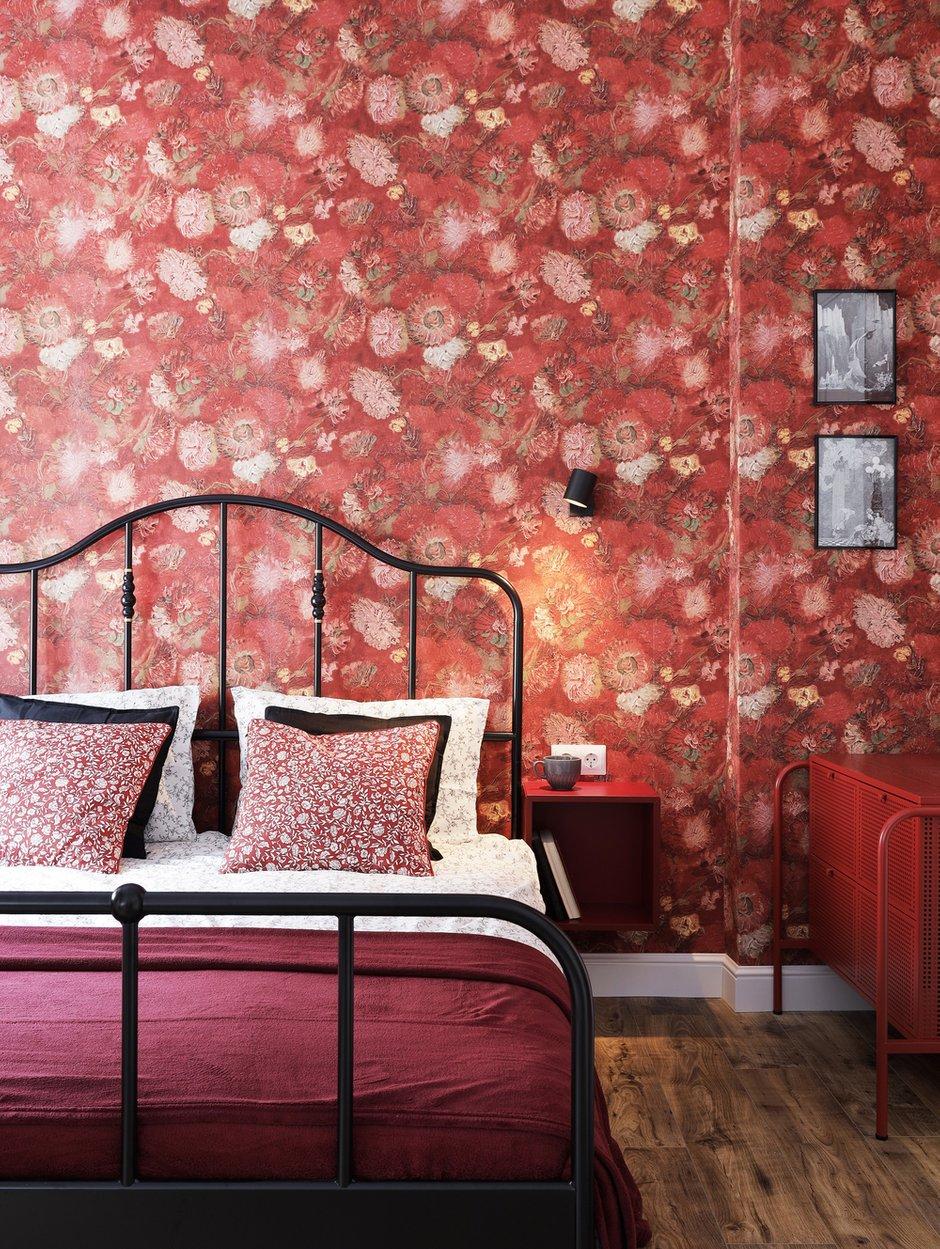 Фотография: Спальня в стиле Эклектика, Малогабаритная квартира, Квартира, Студия, Проект недели, Санкт-Петербург, до 40 метров, Лина Альтовская – фото на INMYROOM