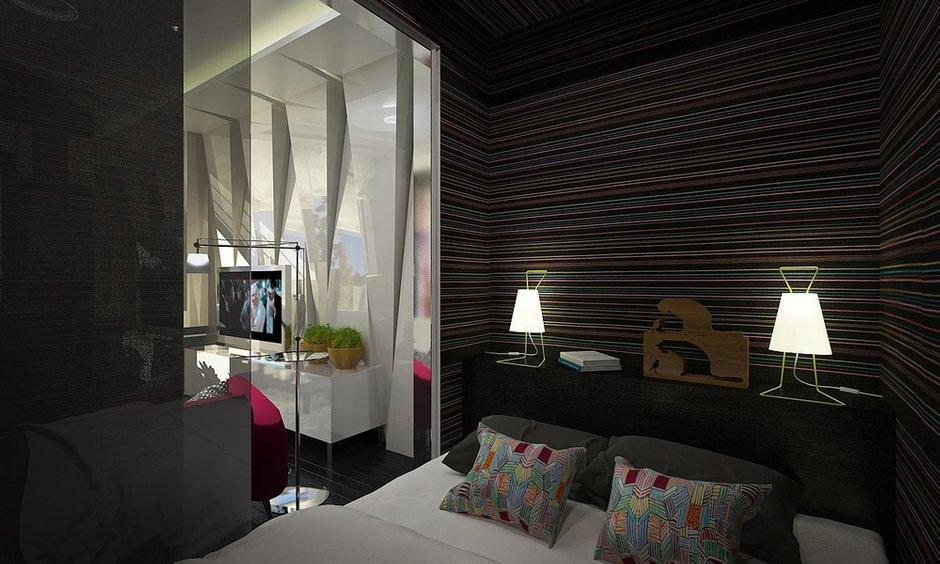 Фотография: Спальня в стиле Современный, Квартира, BoConcept, Дома и квартиры, IKEA, Москва, Dulux – фото на INMYROOM