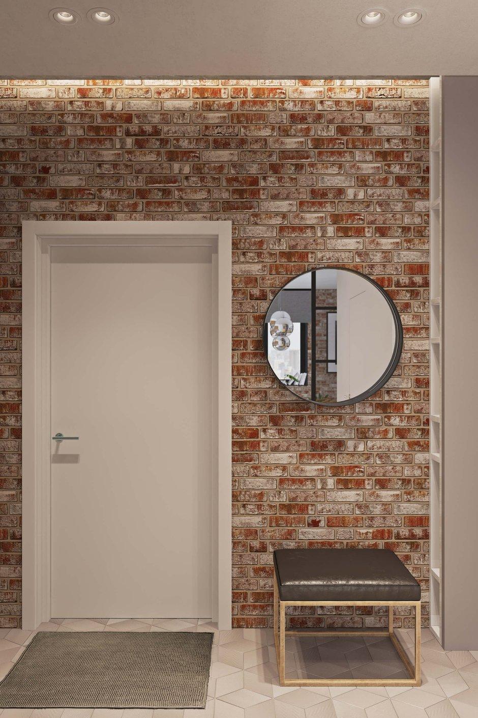 Фотография: Прихожая в стиле Лофт, Квартира, Проект недели, Москва, Geometrium, ЖК «Водный», 2 комнаты, 60-90 метров – фото на INMYROOM