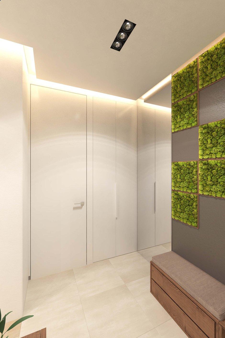 Фотография: Прихожая в стиле Эко, Квартира, Проект недели, Geometrium – фото на InMyRoom.ru