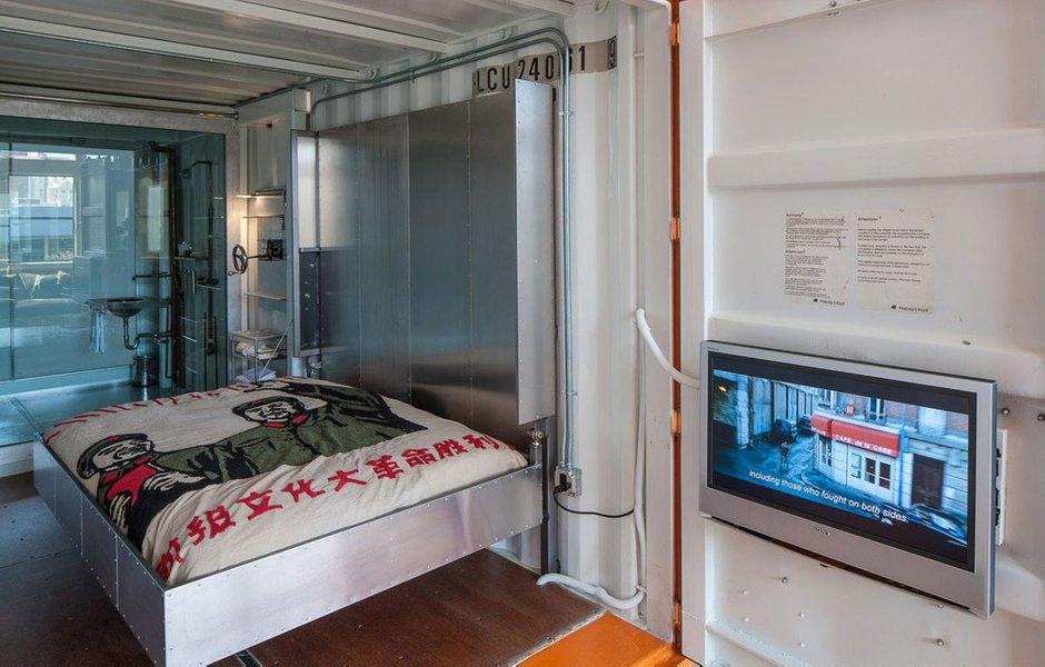 Фотография: Спальня в стиле Хай-тек, Дом, Дома и квартиры, Проект недели – фото на INMYROOM