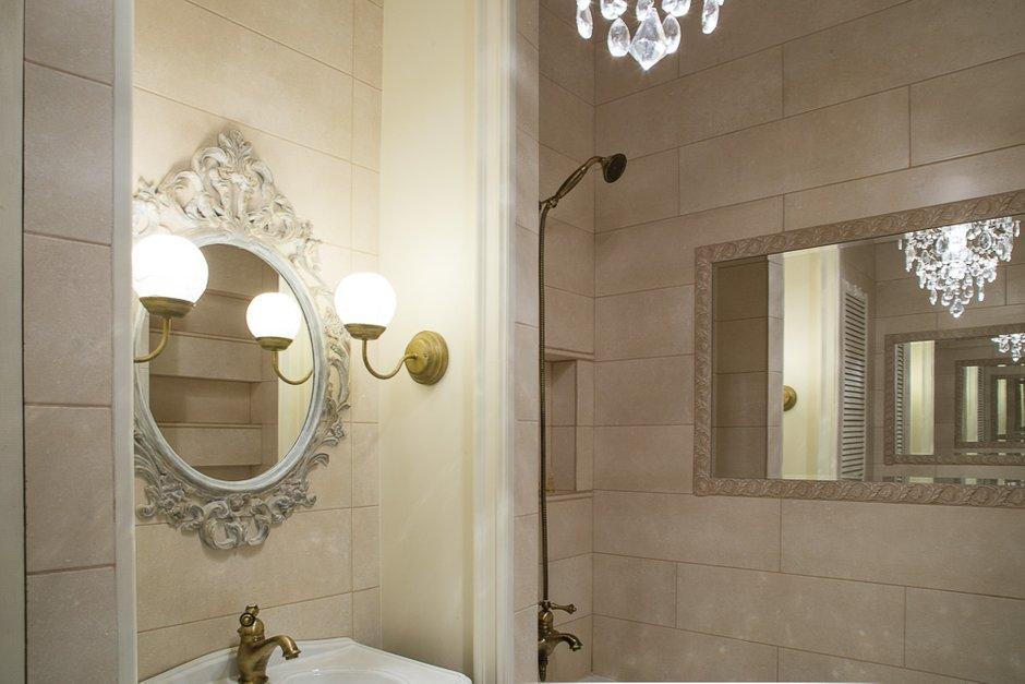 Фотография: Ванная в стиле Прованс и Кантри, Классический, Эклектика, Квартира, Проект недели – фото на INMYROOM