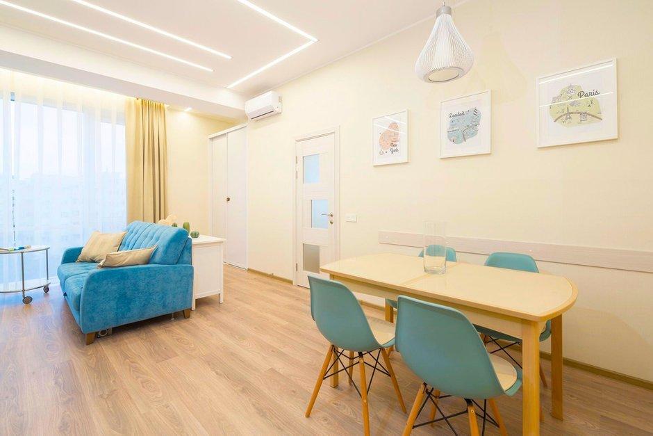 Фотография:  в стиле , Квартира, Проект недели, Москва, скандинавский минимализм, Монолитный дом, 1 комната, 40-60 метров, ЖК «Atlant City» – фото на INMYROOM