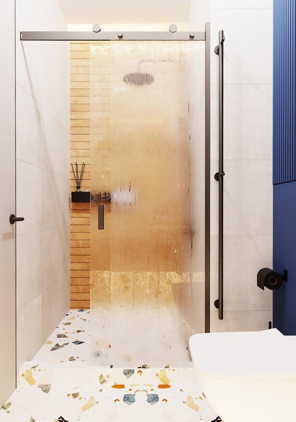 Фотография: Ванная в стиле Современный, Квартира, Проект недели, Москва, 4 и больше, Более 90 метров, Студия 20:18 – фото на INMYROOM