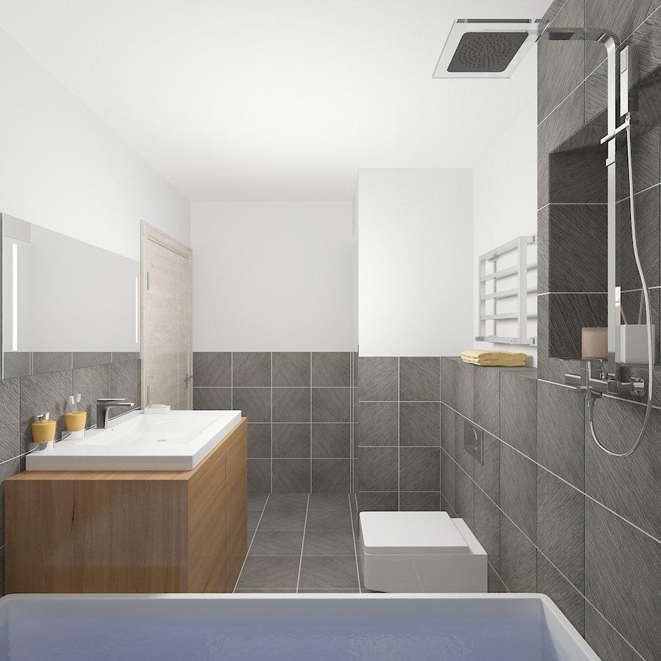 Фотография: Ванная в стиле Современный, Минимализм, Квартира, Проект недели – фото на INMYROOM