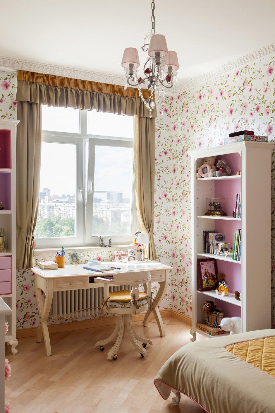 Фотография: Детская в стиле Прованс и Кантри, Квартира, Дома и квартиры, Проект недели, Москва – фото на InMyRoom.ru