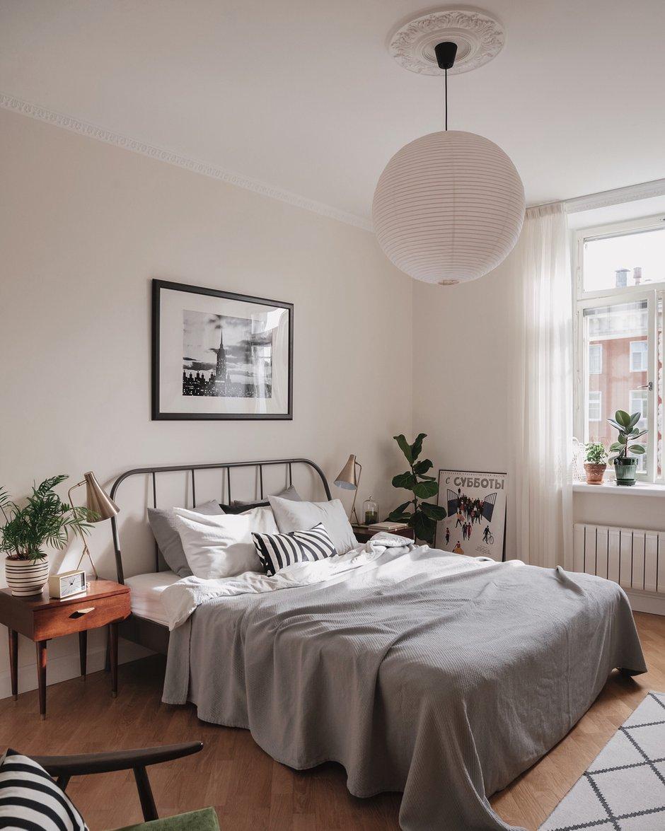 Фотография: Спальня в стиле Скандинавский, Проект недели – фото на INMYROOM