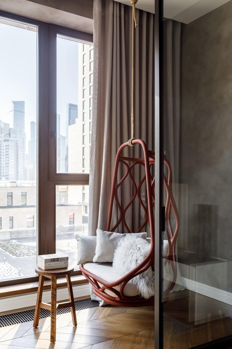 Фотография: Балкон в стиле Современный, Квартира, Проект недели, Москва, Айя Лисова, 4 и больше, Более 90 метров, Aiya Design – фото на INMYROOM